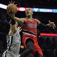 Damian Lillard explota con 43 puntos en victoria sobre Spurs