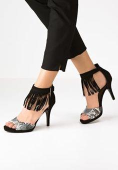 Tamaris - High Heel Sandaletten - black