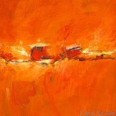 Petra Schüßler - Orange Composition