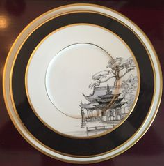 Grisailles chinoiserie