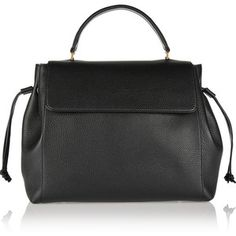 Lanvin Nomad textured-leather tote