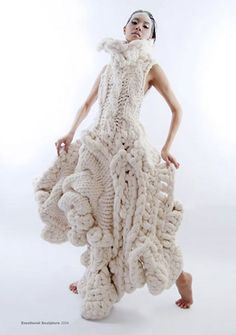 I wouldn't even know where to begin to knit this...but it's pretty damn cool!