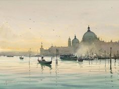 Evening calm by Joseph Zbukvich
