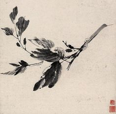 https://flic.kr/p/6i2kxc | 清-石涛-蚕箔成眠图 | Painted by the Qing Dynasty artist Shi…