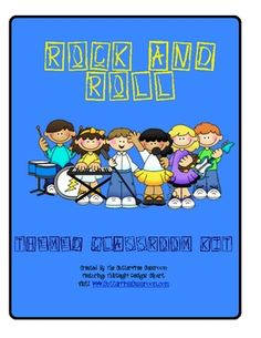 ROCK AND ROLL THEME CLASSROOM KIT ~ PRINTABLES & MORE. This 15 page thematic kit contains printables to enhance your racing/race car themed classroom.