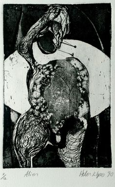 My work, Printmaking, etching
