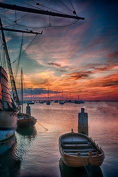 Plymouth Sunrise by John Klingel