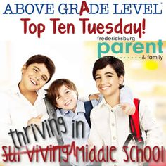 Tips for helping your child thrive in middle school- Fredericksburg Parent and Family Magazine
