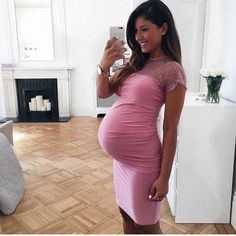 elegant selfie   beautiful maternity picture ideas   baby bump photo ideas…