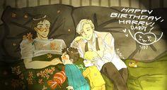 Happy Birthday, Harry by mizorekibishi.deviantart.com on @DeviantArt