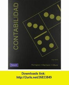 Contabilidad (9786074426960) Charles T. Horngren , ISBN-10: 6074426961  , ISBN-13: 978-6074426960 ,  , tutorials , pdf , ebook , torrent , downloads , rapidshare , filesonic , hotfile , megaupload , fileserve