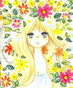 ♥ shojo manga no memory ♥ Welcome to this page dedicated to vintage manga and others things from japaneses magazines and animation. Pretty And Cute, Pretty Art, How To Draw Hair, Happy Girls, Japanese Art, My Images, Cute Kids, Vintage Art, Character Design