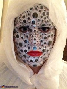 Crazy Eyes - Halloween Costume Contest via @costume_works