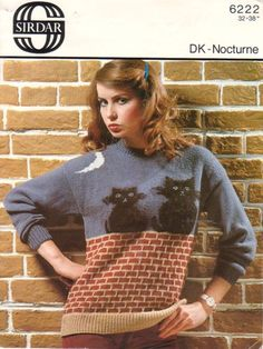 bb83b3f7b8 crazy cat lady apparel Sirdar Knitting Patterns