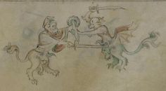 The Queen Mary Psalter 1310-1320 Royal MS 2 B VII  Folio 132r