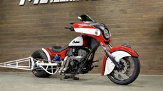 The Holeshot - Custom Chieftain | Indian Motocyclette FR-CA