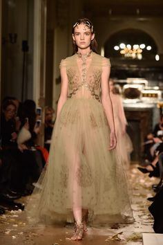 7 Stunning Looks From the Valentino Couture Show via @WhoWhatWear