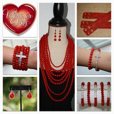 Valentine's Day Jewelry - Find it http://www.facebook.com/armcandyauctions