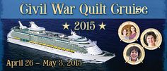 oh oh oh, so dreamy! Wish I could go!! Stitchin' Heaven Travel: Civil War Quilting Voyage 2015