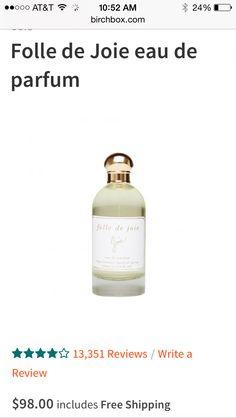 Folle de Joie perfume sample