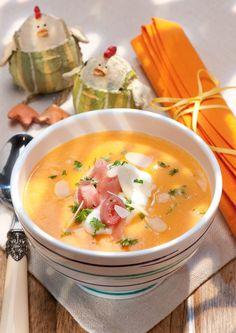 Wie man grüne Suppe zu schlankem Bauch macht