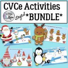 Now includes all 4 CVCe patterns! Your students will love reinforcing their vowel teams with these fun and engaging digital resources. Gingerbread Man Activities, Christmas Activities, Winter Activities, Reading Activities, 2nd Grade Centers, Phonics Games, Teaching First Grade, Literacy Stations, Readers Workshop