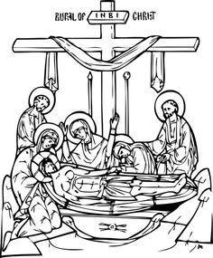 Coloring Pages/clip art  Christian Education - from Orthodox Church in America