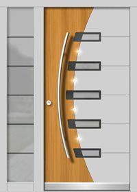 Haustür Modern H137 Door Design Images, Home Door Design, Grill Door Design, Door Gate Design, Door Design Interior, Modern Entrance Door, Main Entrance Door Design, Modern Wood Doors, Wooden Front Door Design