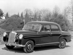 Mercedes-Benz Ponton 190 (W121) 1956-1959 vue AV - photo Mercedes-Benz | Auto Forever