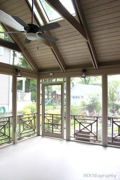 HOUSEography's new screened porch