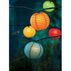 I want these Japanese paper lantern string lights around my curtains in my room!