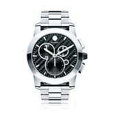 Movado® Vizio Men's Watch in Stainless Steel, available at #HelzbergDiamonds