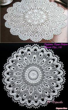 ravelry princess tablecloth pattern by Free Crochet Doily Patterns, Filet Crochet Charts, Crochet Diagram, Crochet Motif, Hand Crochet, Doily Art, Lace Doilies, Crochet Doilies, Crochet Table Topper