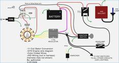 Wiring Diagram Of Motorcycle Honda Xrm 110 Basic Electrical Wiring, Electrical Circuit Diagram, Honda Bikes, Honda Motorcycles, Suzuki 125, Motorcycle Wiring, Bike Engine, Diagram Chart, Electronics Basics
