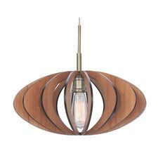 Woodbridge Lighting Canopy 1 Light Pendant