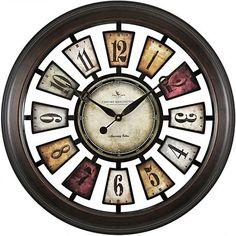 Numeral Plaques Wall Clock | Kirklands