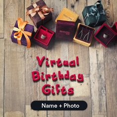 Birthday gift ideas virtual 22 Virtual