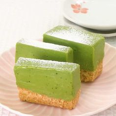 Sweets Recipes, Baby Food Recipes, Wagashi Recipe, Easy Cooking, Cooking Recipes, Pandan Cake, Green Desserts, Confort Food, Food Plating