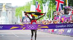 Men's marathon, London 2012