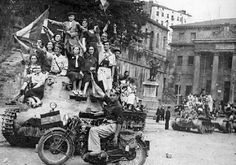 Entrada de los franquistas en Bilbao