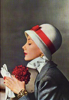 1946 Mademoiselle. 40's fashion