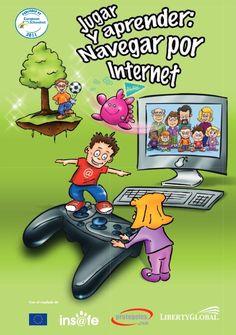 """Para celebrar el Día Mundial de Internet, 17 de mayo, """"Jugar y aprender: Navegar por Internet"""" es un extraordinario cuaderno de actividades con centro de interés en internet y en el uso de las nuevas tecnologías de la información y la comunicación. Adecuado para Educación Primaria."""