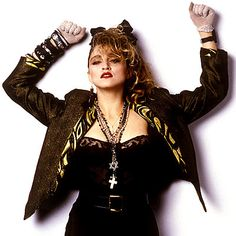 i was a madonna girl... have to admit. actually, i still am. don't care what you say - that woman is a smart cookie.