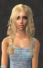 Sims 2 Female Hair - 'blonde'