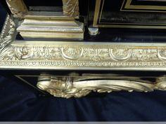Meuble à hauteur d'appui en marqueterie Boulle époque Napoléon III - XIXe siècle - N.42008