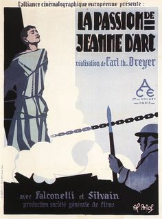 La passion de Jeanne d'Arc(1928) – Carl Theodor Dreyer