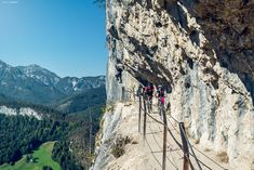 Close to Bad Goisern at the so called Ewige Wand is one of the most scenic bike trails of Austria. A must see for the Mountainbike lover! Bike Trails, Austria, Mount Rushmore, Sport, Travel, Deporte, Viajes, Sports, Destinations