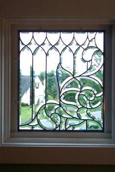 lovely leaded glass window