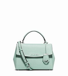 0f7bb6f81cff Ava Small Saffiano Leather Satchel by Michael Kors Michael Kors Ava,  Leather Satchel Handbags,