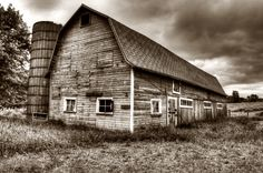 Sepia photography of Wisconsin farm - Sepia Photography - #landscapephotography #landscape #nature #dream #HDR #photography #photooftheday #sepia #barn #farm